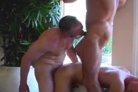 Three-some homo Pool Party With Bryan Archer Steve Cassidy Cli