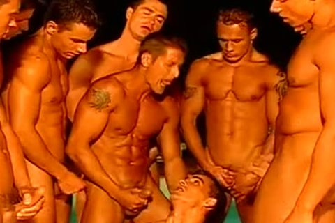 Too Many Ripped dirty males To Count Circle Jerk