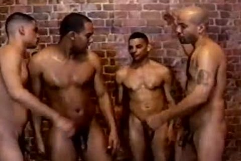 handsome And hairy homo anal invasion In The Shower