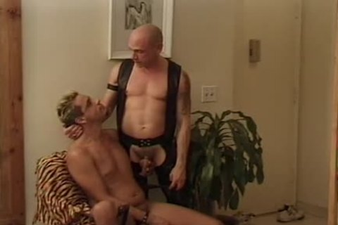 Leather Wolf - Scene two - Macho chap clip