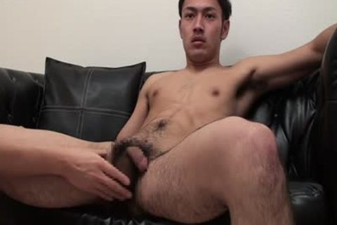 bushy Muscle lad Squirting His Urine And semen