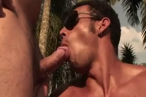 Ricco Puentes Poolside butthole plowing