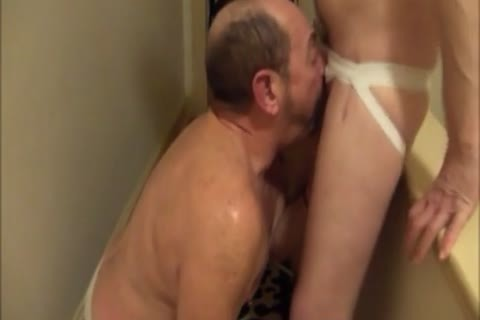 My lustful Buddy bonks My throat And ****s My booty in nature's garb