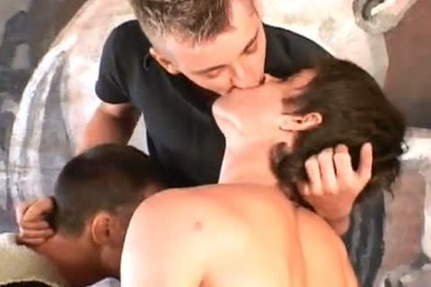 three-some Fingering And nailing