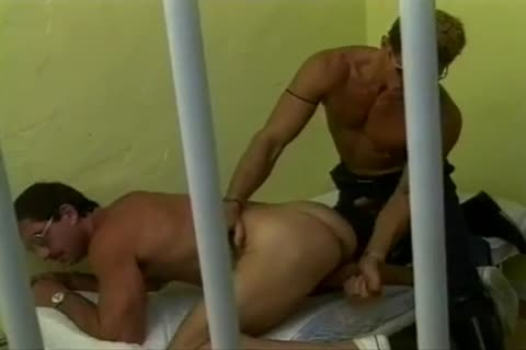 Arrested man banged Hard By excited Police