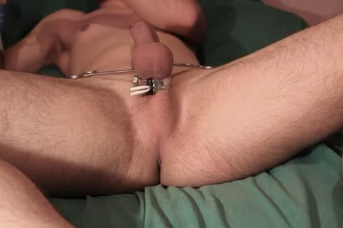 Teasing Myself With Electro, butthole Play And Pegs