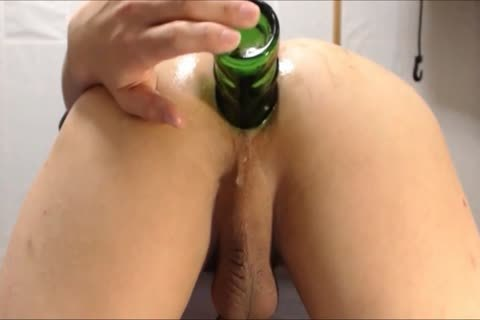 unfathomable Bottle Play  doggy style