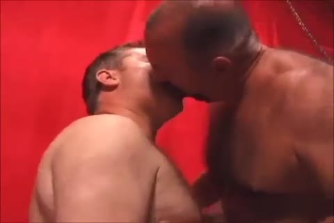 Two horny Daddies fucking