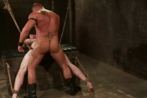 First-Timer Ben wants Being Teased And fastened By Leather slavemaster