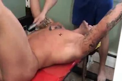 excited biggest Muscle fastened And Tickled - Ryan Skull