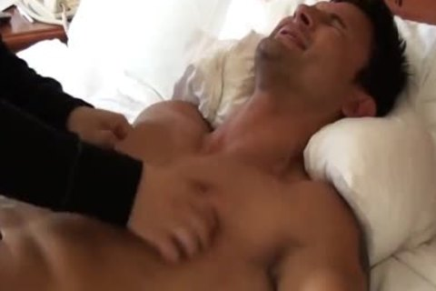 filthy And wicked Muscle Hunk fastened And Tickled - Dante Brice