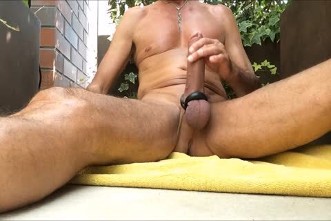 Http://www.xtube.com's Very moist. I Like To Play With Me On The Balcony With All My toys And Poppers