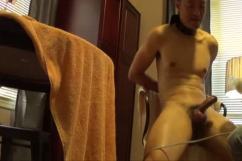 asian Buddy Is fastened, Edged And Milked Dry.  Remember To much loved If you Like So Others Can find The clip scene.