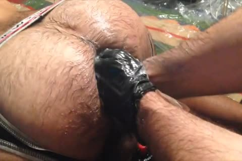 This Is One Of My Hottest Sessions On Tape. Kaminoken And His curly booty Were Fisted And Double Fisted By My taut ally Blackdanus (watch Previous Clip) And I Interracial, Very Messy And Piggy.