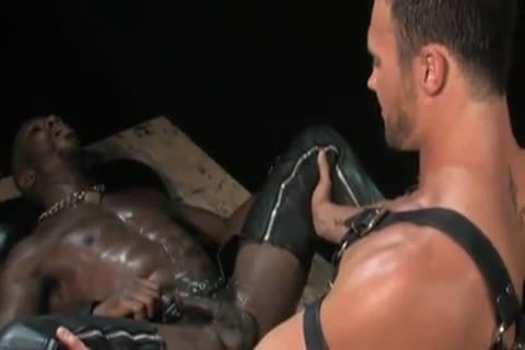 sleazy darksome Muscle Porn