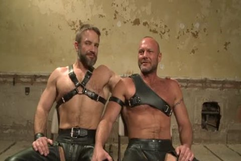 Chad Brock And Dirk Caber In dirty thraldom Action
