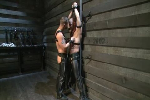 Hung White lad In Leather acquires Off homo boyfrend