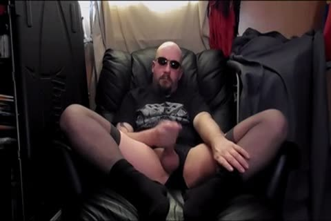 butthole sextoy And Masterbation,in darksome nylons