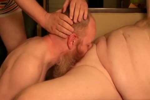 large Red And Bead Getting Sucked Off