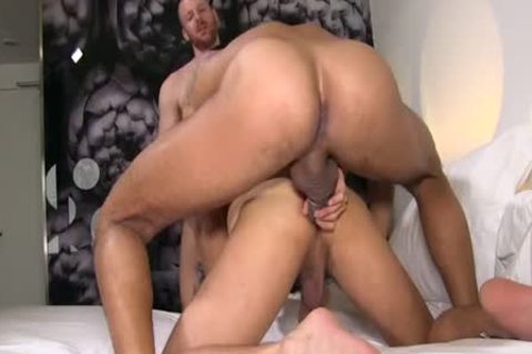 David Double-permeated By Tim & Lucio. M
