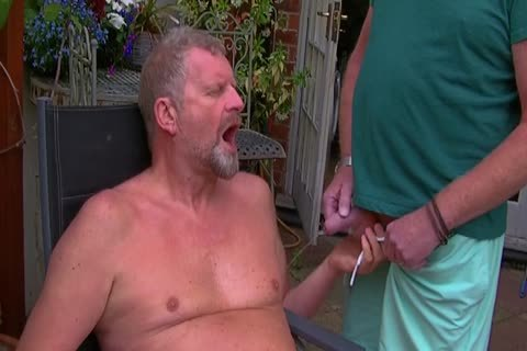 David Comes Over For Some fun In The Garden And In The Bedroom Too And I acquire His large penis In My butthole Hoooo Did It Feel nice