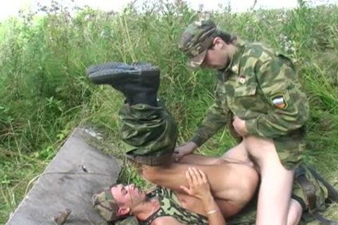A homosexual Soldier Is pounded By His Boss