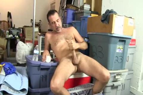 excited homosexual dude Uses A Bottle To plough Himself