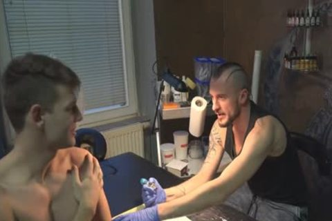 charming Sex For specie In A Tattoo Studio
