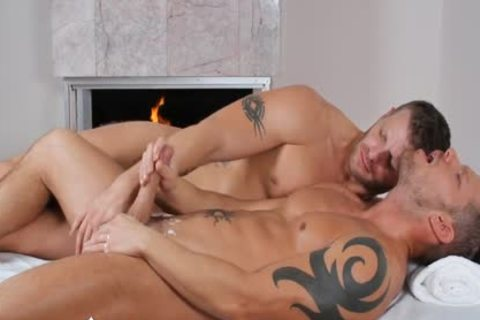 ManRoyale - Shane Frosts Swallows thick Load From Jeremy Stevens