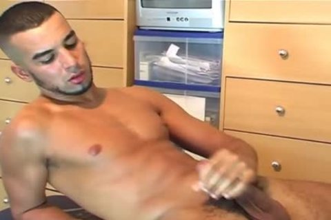 A wonderful blameless Arab twink Serviced His large ramrod By A twink In Spite Of Him!