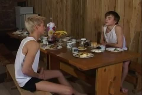 Russian homosexual males plow In Sauna After Dinner