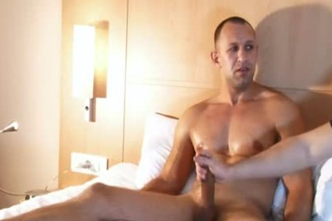 Full clip scene: A admirable virginal straight lad Serviced His large 10-Pounder By A lad