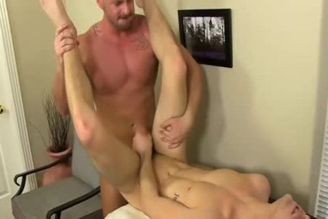 excited Boss Mitch Vaughn fucks Dustin Fitch In His chocolate gap