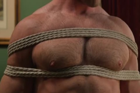 tied Up sexy lad nailed
