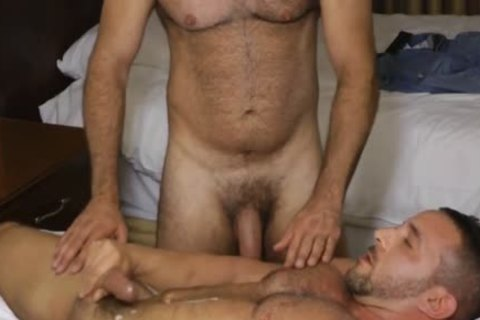 Bald Daddy With monstrous knob