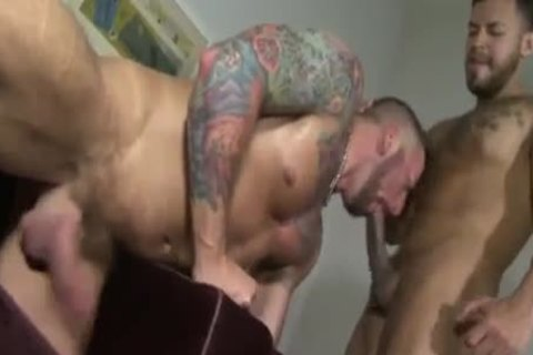 Hunky Muscle Gentleman In Undies undress Down For Ultimate Bum pleasure ass Fornicating Action