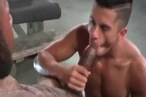 A Very wild Latino gay chap Likes Some coarse Greek From A throbbing African Shaft