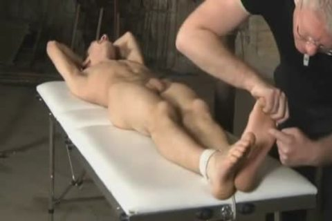 tied Up, Tickled And Jerked