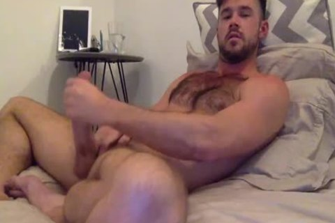 Mike De Marko Beating Off In bed