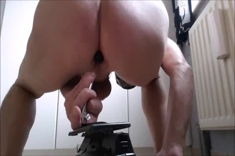 anal Fuckmachine plowing My arse With Great cumshot