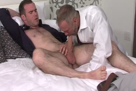 Silver Fox Dallas Steele And Clean Cut ramrod Matthew Bosch sperm jointly