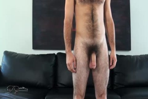 HD GayCastings - Josh hairy butthole Is poked By The Casting Agent