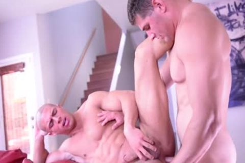 enormous penis gay painfully butt invasion With cumshot