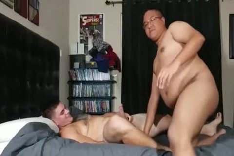 fat Bottom poked By A Straight guy