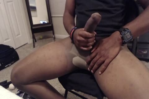15 Minute jack off And spooge In Sheer Energy hose