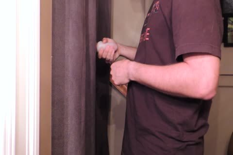 Straight 22 Year old With An 8 Inch Cut Trimmed weenie Comes By My Gloryhole