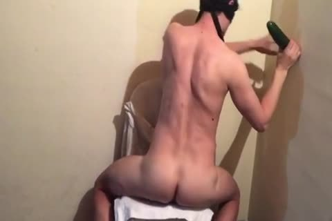 twink banging By A large fake penis. bizarre Painfully Prostate orgasm