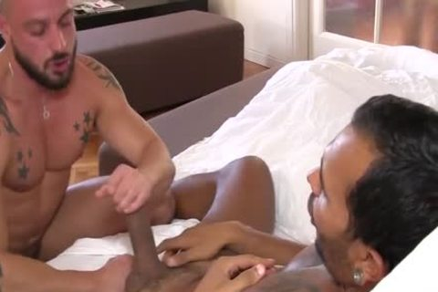 Lucio Saints arsehole Is penetrated By David Avila