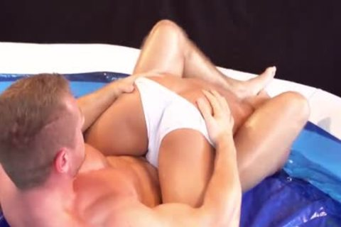 Whipped Creamed Messy Wrestlers
