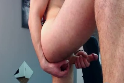 Flirt4Free Model Bruce Larsen - big Dicked fellow widens His ass And Jerks A big Load Off